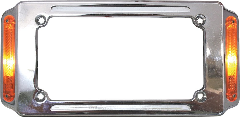 $45.19 HardDrive License Plate Frame Louvered Aluminum #1020211