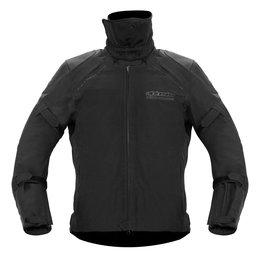 Black Alpinestars Tech St Gore-tex Waterproof Textile Jacket Us 42 Eu 52