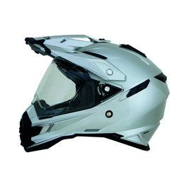 Silver Afx Mens Fx-41ds Fx41 Ds Dual Sport Helmet