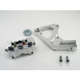 Polished Aluminum Performance Machine Rear Caliper 11.5 Rotors Alu H-d Fxst C Flst F Flstn Flsts