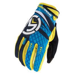 Black, Blue, Yellow Moose Racing Mens M1 Gloves 2015 Black Blue Yellow