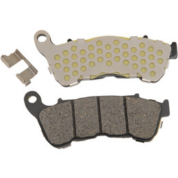 Drag Specialties Semi-Metallic Front Brake Pads Single Set For Harley 1721-1914