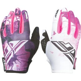 Fly Racing Youth Girls Kinetic Gloves Pink