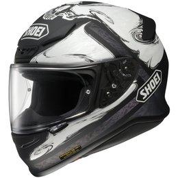 White Shoei Mens Rf-1200 Rf1200 Phantasm Full Face Helmet 2013