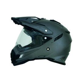 Frost Grey Afx Mens Fx-41ds Fx41 Ds Dual Sport Helmet