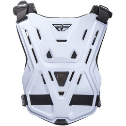 Fly Racing Revel Race CE Rated Roost Guard Chest Protector White