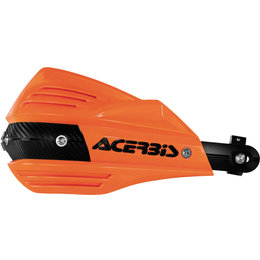 Acerbis X-Factor Handguards Kit With Mounting Hardware Orange Black 2374191008 Orange