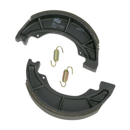 SBS All Weather Rear Brake Shoes With Springs Single Set Only Kawasaki 2183 Unpainted