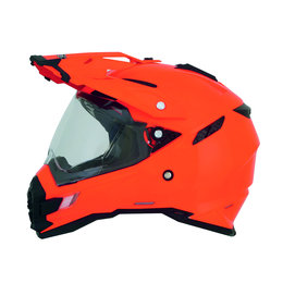 Safety Orange Afx Mens Fx-41ds Fx41 Ds Dual Sport Helmet