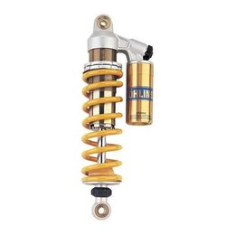Silver/gold/yellow Ohlins 46prc Rear Shock With Brackets For Suzuki Tl1000r 98-01