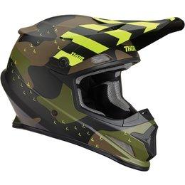 Thor Sector Mosser Matte Helmet Green