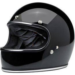 Biltwell Mens Gringo Full Face Helmet 2014 Black