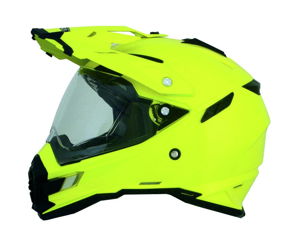 Fluorescent Motorcycle Helmet