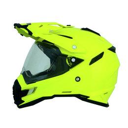 Hi-vis Yellow Afx Mens Fx-41ds Fx41 Ds Dual Sport Helmet