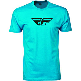 Turquoise Fly Racing Mens F-wing Premium T-shirt 2015
