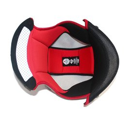 Red Nolan Replacement Interior For N86 Full Face Helmet To