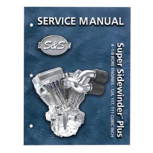 $29 95 S&S Cycle V-Series Service Manual For #199806