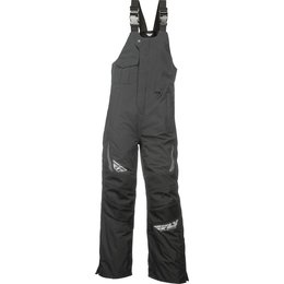 Fly Racing Mens Aurora Insulated Bib Snowmobile Pants Black
