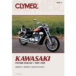 Clymer Repair Manual For Kawasaki VN1500 Vulcan 87-99