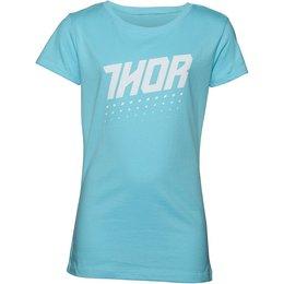 Thor Youth Girls Aktiv T-Shirt Blue