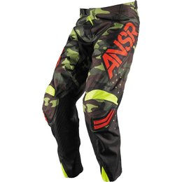 Answer Mens Limited Edition Elite Motocross MX Pants Multicolored