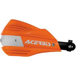 Acerbis X-Factor Handguards Complete Kit W/ Hardware Orange White 2374191362 Orange