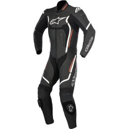 Alpinestars Mens Motegi V2 1 Piece Leather Racing Performance Riding Suit Black
