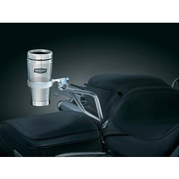 Chrome Kuryakyn Passenger Drink Holder With Mug Universal