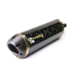Stainless Steel Mid Pipe, Carbon Fiber Muffler Two Brothers Racing M-2 Slip-on Muffler Carbon Fiber For Honda Crf250r 11