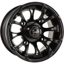 Douglas Wheel UTV Nitro 12X7 2+5 Offset 4/110 BP 14MM Bolt Hole Black 989-15B Black