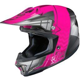 HJC Womens CL-X7 CLX7 Cross Up Motocross MX Off-Road Helmet Pink