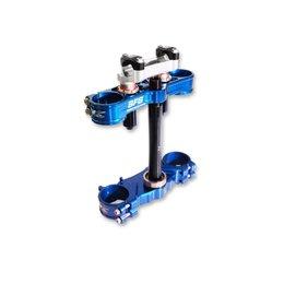 Neken SFS Triple Clamps Blue For Kawasaki KX85 2014
