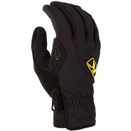 Klim Mens Inversion Gore Windstopper Breathable Snowmobile Gloves Black