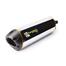 Stainless Steel Mid Pipe, Aluminum Muffler Two Brothers Racing M-2 Slip-on Muffler Aluminum For Yamaha Fz8 11