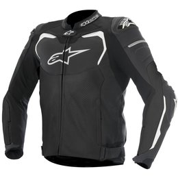 Alpinestars Mens GP Pro Airflow Armored Leather Jacket Black