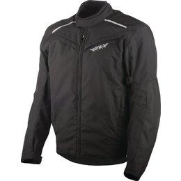 Fly Racing Mens Baseline Armored Textile Jacket Black