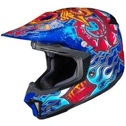 HJC CL-X7 CLX7 Zilla Motocross MX Off-Road Helmet Blue