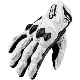 White Speed & Strength Seven Sins Leather Gloves