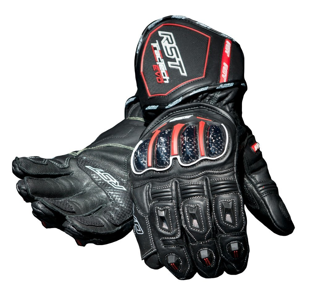 Mens leather gloves black friday - Black Rst Mens Tractech Evo Leather Gloves 2014