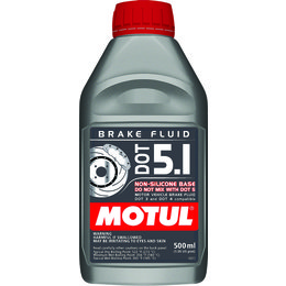 Motul DOT 5.1 Full Synthetic Brake Fluid 500 ML