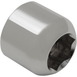 Drag Specialties Rear Axle Nut Each Chrome 0214-0885 Unpainted
