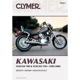 Clymer Repair Manual For Kawasaki Vulcan VN700 VN750 85-06
