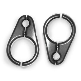Modquad 5/16 Brake Line Clamps For 1 Inch A-Arms Black