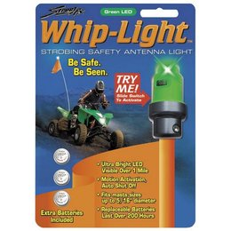 Green Street Fx Antenna Whip Light Atv Universal