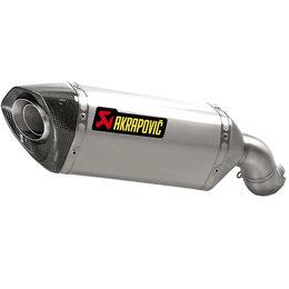 Akrapovic Slip-On Exhaust System For Kawasaki Z900 ABS 2017 Titanium S-K9SO3-HZT Unpainted