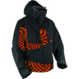 Orange Checker Hmk Mens Peak 2 Waterproof Snow Jacket 2013