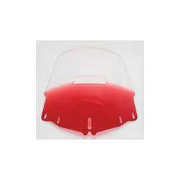 Memphis Shades Windshield Standard W/Hole Ruby For Honda GL1800