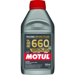 Motul RBF Factory Line Pro Racing Full Synthetic Brake Fluid 500 ML