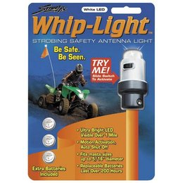 White Street Fx Antenna Whip Light Atv Universal
