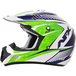 AFX FX17 Complex Motocross Face Helmet White
